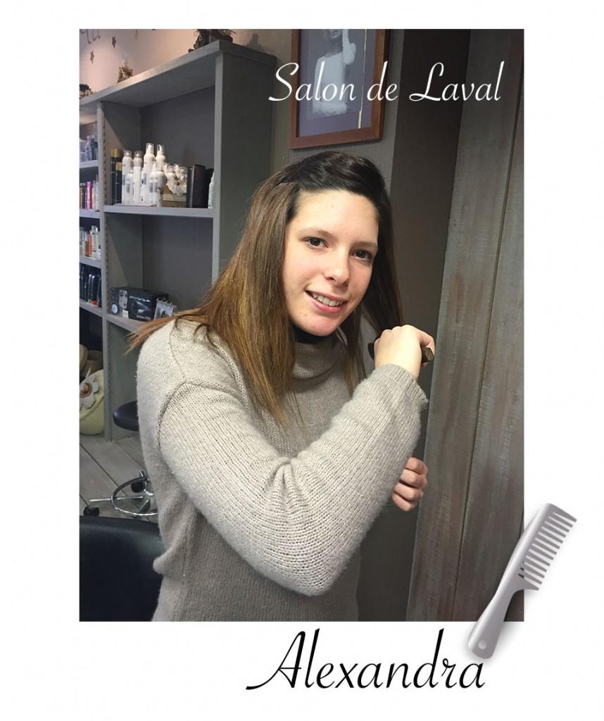 Alexandra coiffeuse - salon atelier coiffure laval