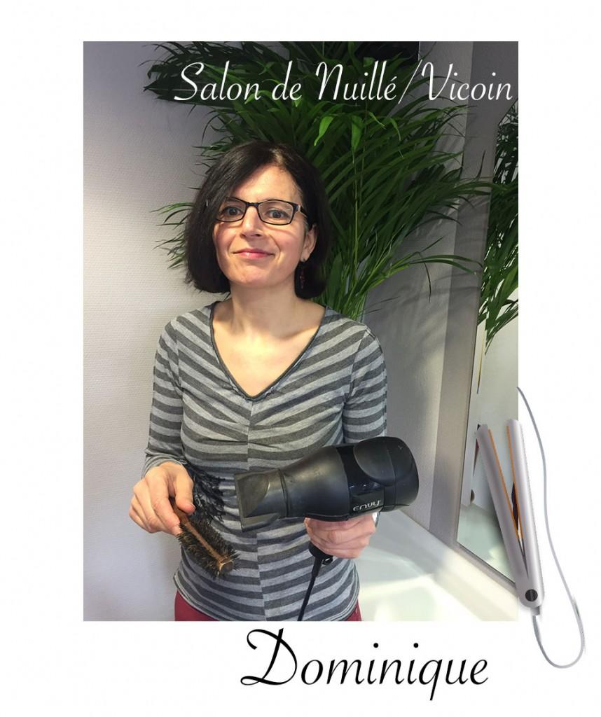Dominique coiffeuse - salon atelier coiffure nuillé