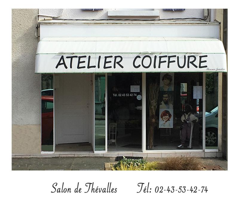 Salon de coiffure - Atelier Coiffure Thévalles - Tél :02.43.53.42.74
